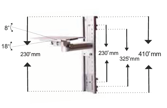 Soft Connection Type Horizontal Rail Clamp