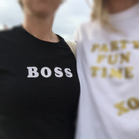 """BOSS"" GRAPHIC T-SHIRT"