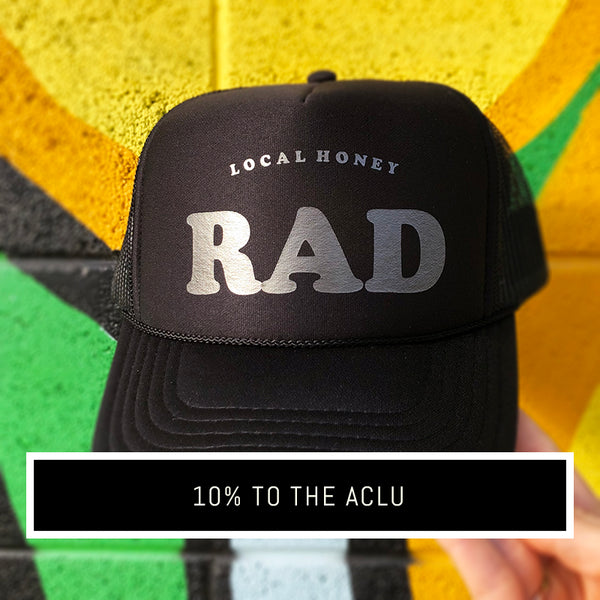 'RAD' UNISEX TRUCKER HAT