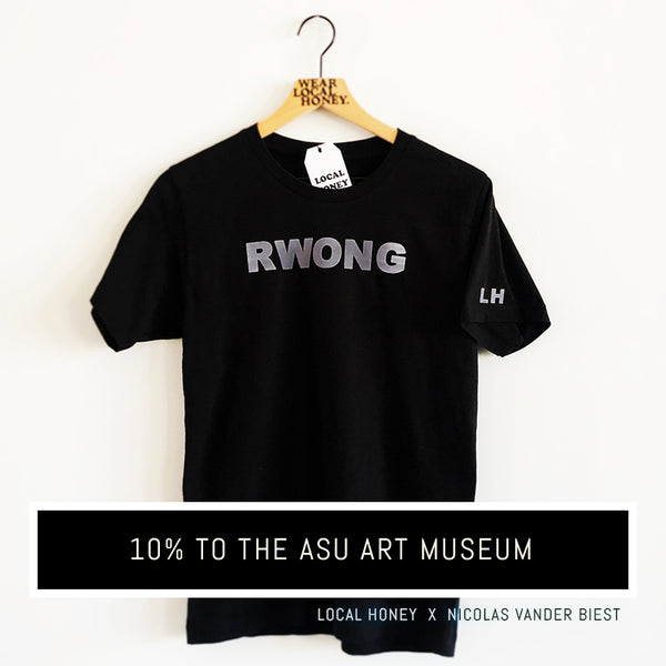 """RWONG"" UNISEX TSHIRT - OPTIONS"