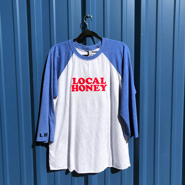"LOCAL HONEY ""HOME RUN"" TEE"