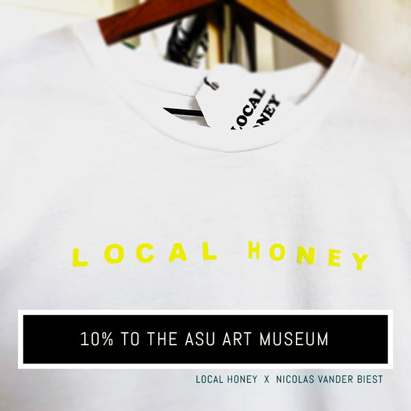 """LOCAL HONEY"" COLLAB UNISEX TSHIRT"