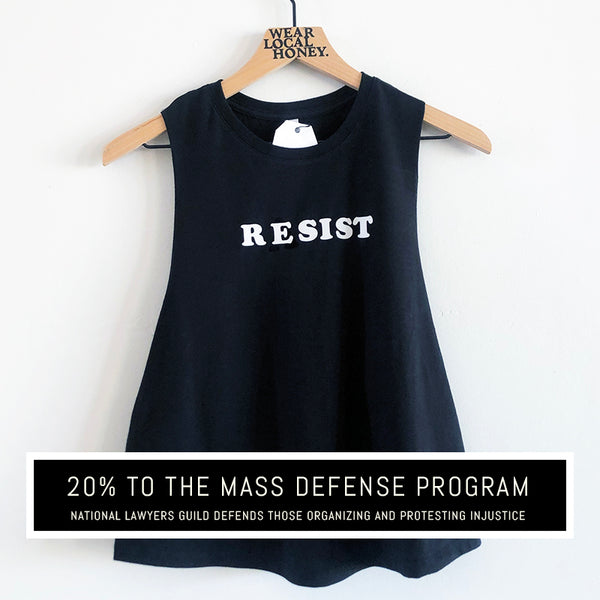 ANTIRACIST 'RESIST' - TANK OR TEE