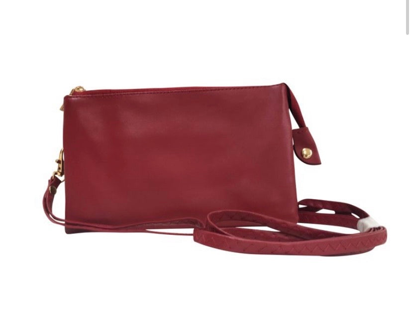 Garnet crossbody handbag