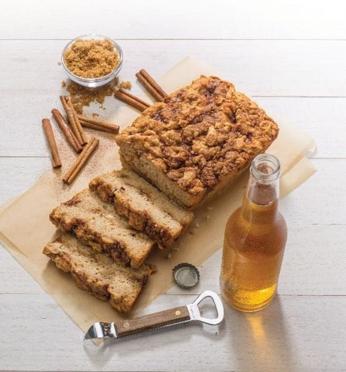 Beer bread mix gluten free cinnamon crumble