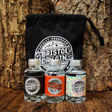 Spiced Gin Set with Drawstring Bag | 5cl x 3