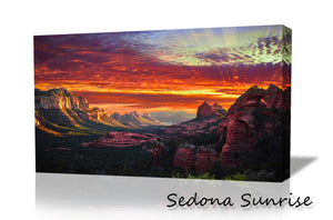 'Sedona Sunrise''  Canvas Wall Art