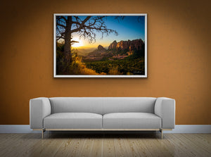 'Sedona Light''  Canvas Wall Art