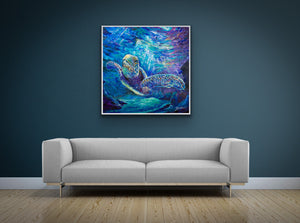 'Journey Into Epiphany'  Canvas Print  Open Edition by Artist Jody Barrilleaux