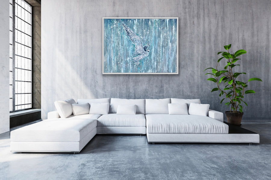 'Flight'   Canvas Print Lifetime Open Edition by Artist Jody Barrilleaux
