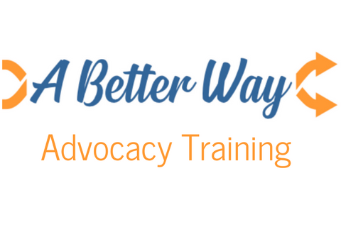 A Better Way Advocacy Training logo continuing education