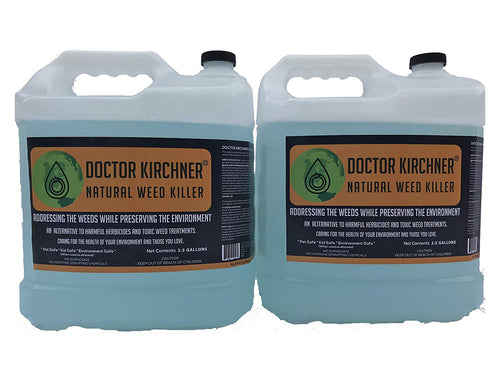 Doctor Kirchner Natural Weed Killer (2.5 gal 2 pack) No Glyphosate and No Hormone Disrupting Chemicals