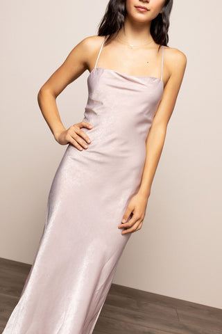 Elodie Slip Gown in Blush