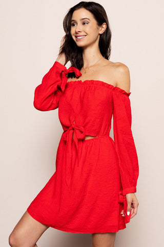 Elena Mini in Red