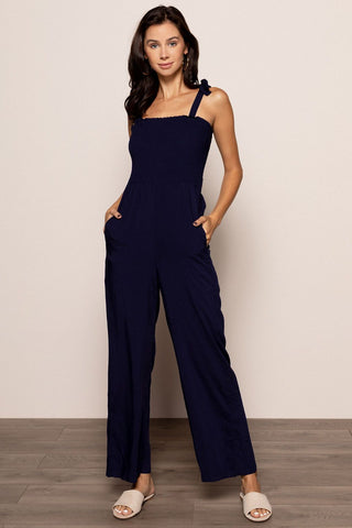 Whitney Jumpsuit in Navy