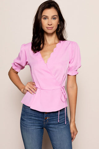 Valerie Top in Pink