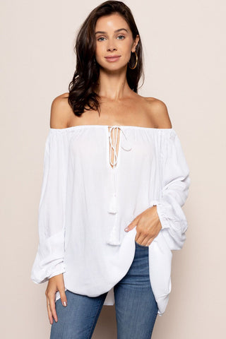 Elizabeth Top in White