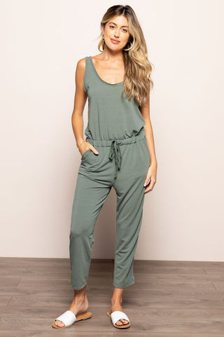 Ollie Jumpsuit in Olive