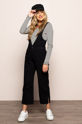 All About Her Overalls in Black