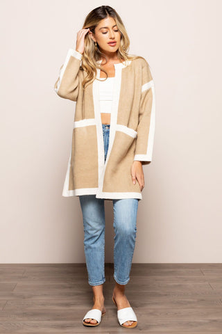 Warm Me Up Sweater in Tan