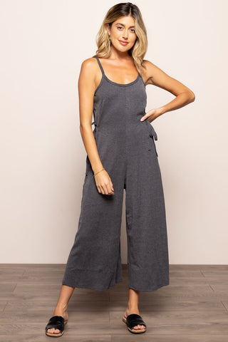 Mia Jumpsuit in Gray