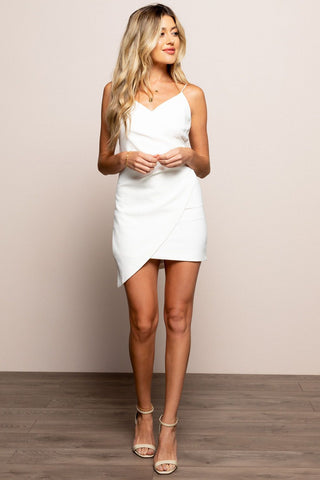 Annika Dress in White