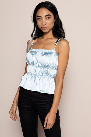 Haisley Top in Blue