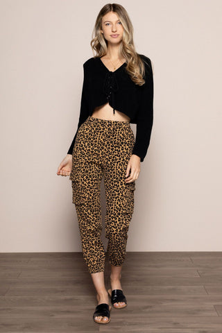Leopard Joggers in Print