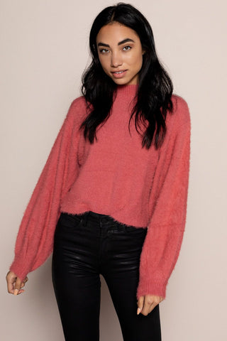 Beatrice Sweater in Pink