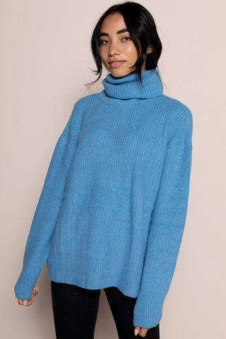 Blueberry Sweater in Blue
