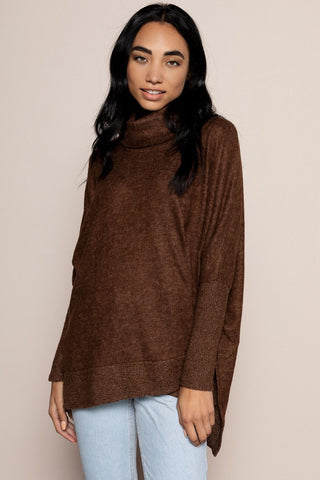 Sonia Sweater in Brown