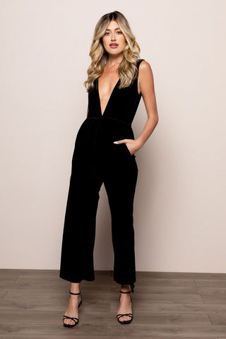 Jackie Jumpsuit in Black