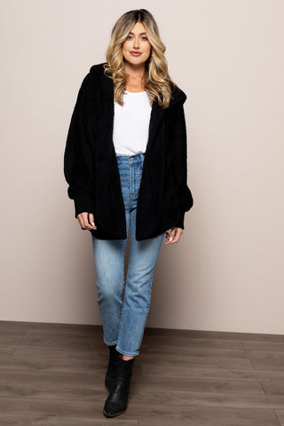 Jasmine Jacket in Black in Black