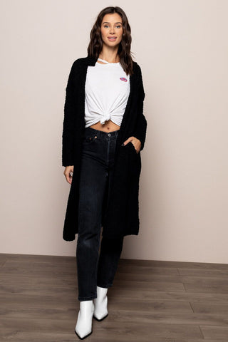 Jeslyn Cardigan in Black