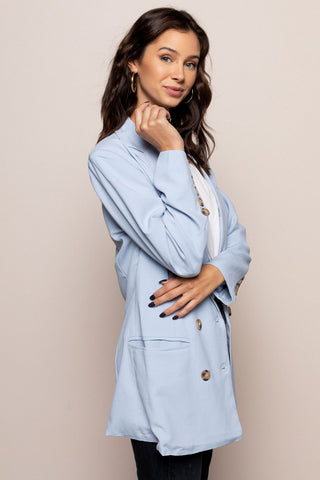 Baby Blues Blazer in Blue