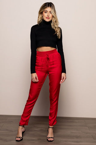 Holiday Pants in Red