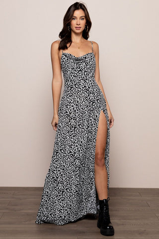 Wild Thing Maxi in Black