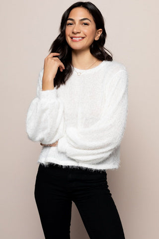 Arctic Sweater in White