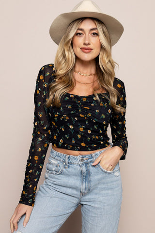 Kinsley Top in Navy
