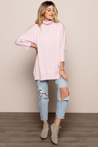 Tania Sweater in Pink