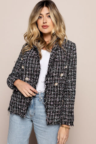 Jackie O Jacket in Multicolor