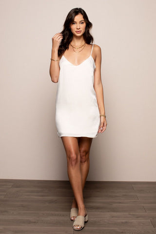 Slip Dress in Cream