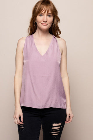 Mika Top in Lilac