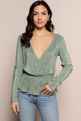 Alessia Top in Green