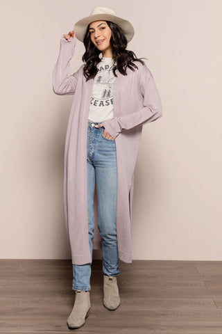 Michaela Duster in Lilac