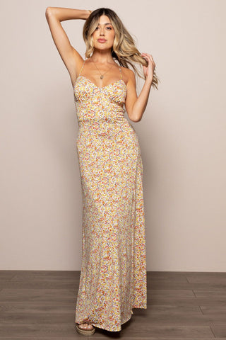 Fall in Love Maxi in Yellow