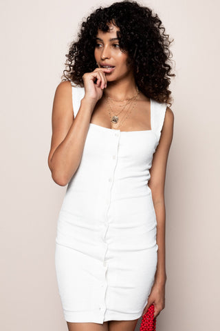 Beautiful Liar Dress in White