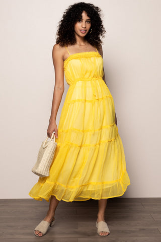 Shine On Maxi in Yellow