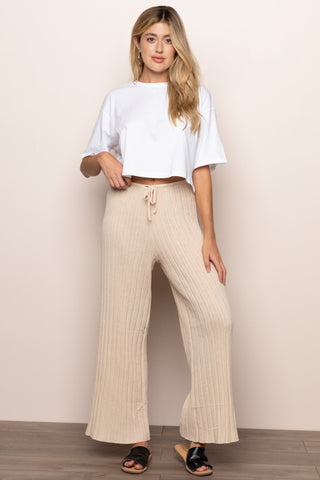 Baha Pant in Tan