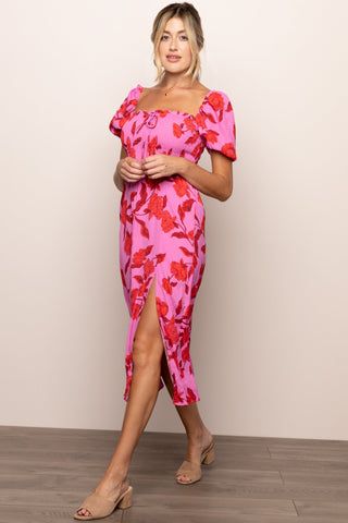 Havana Nights Dress in Pink